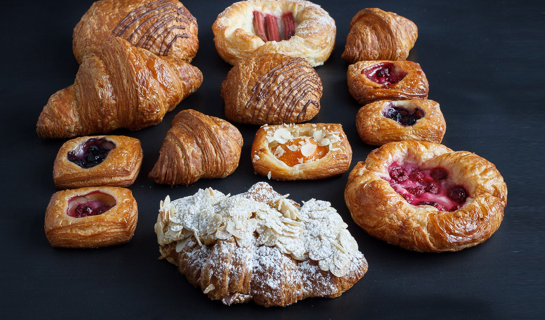 The Grain Emporium's pastry range